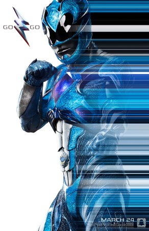 Power Rangers Character Poster