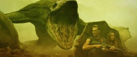 Tom Hiddleston & Brie Larson in Kong: Skull Island