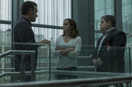Tom Hanks, Emma Watson & Patton Oswald in The Circle