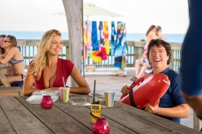Kelly Rohrbach & Jon Bass in Baywatch
