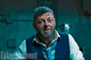 Andy Serkis as Ulysses Klaus in Black Panther