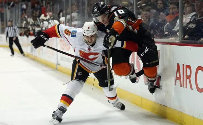 Anaheim Ducks Close To Putting Out Calgary S Flame 2015