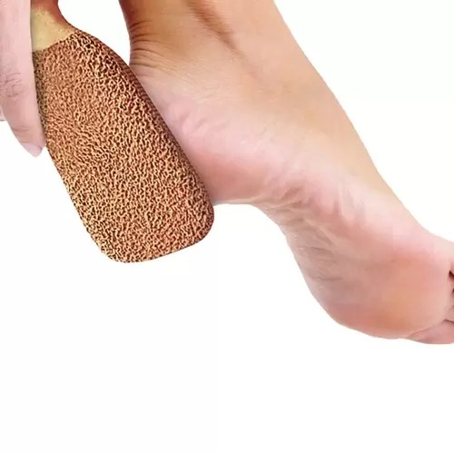 2 sides terra cotta foot scrubber for self help holiday gifts