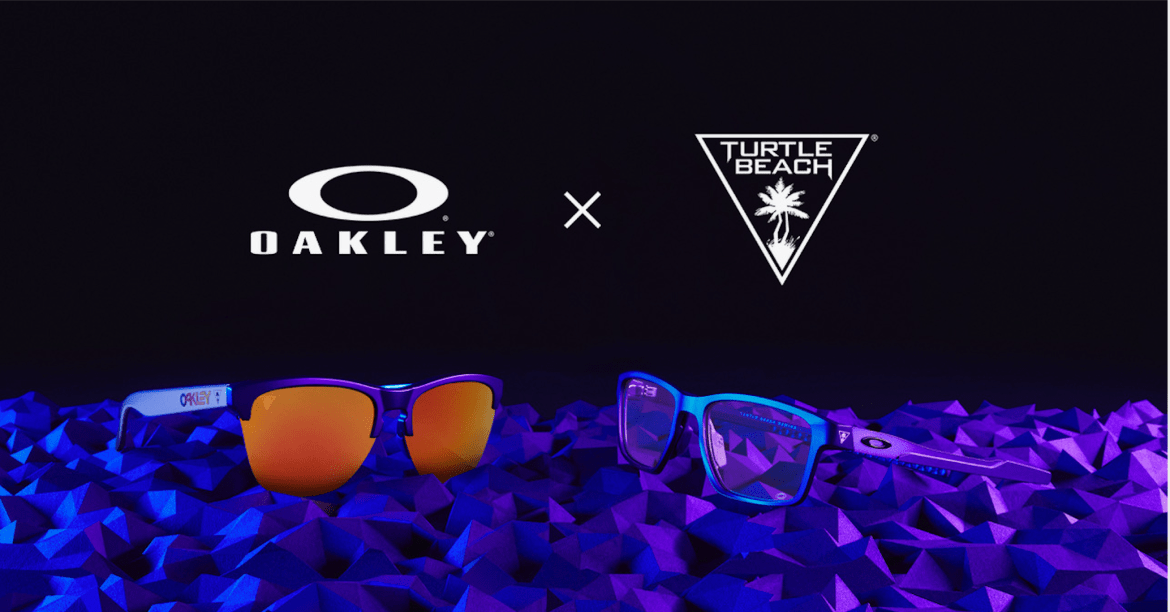 See better. Hear better. Play better. Oakley teams up with Turtle Beach to give gamers the ultimate advantage