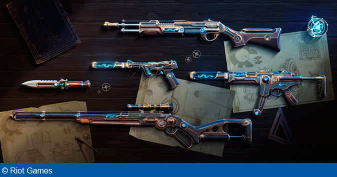 Riot Games announces VALORANT's new skin line, Magepunk
