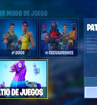 Patio de Juegos Fortnite