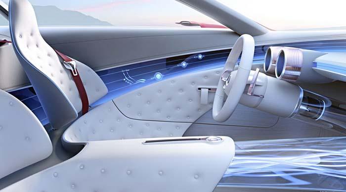 Vision MercedesMaybach 6 prototipo  Movilidad Elctrica
