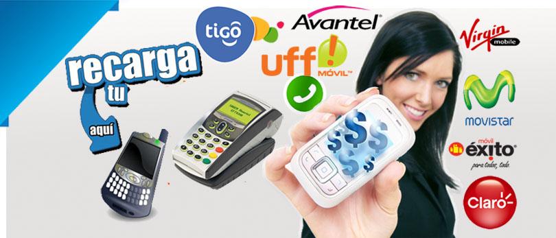 recargas a celular movilnet colombia