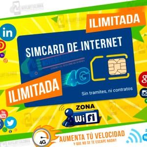 Simcard-De-Datos-y-Minutos-Ilimitada-Movilnet- Colombia