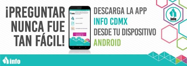 App INFO CDMX