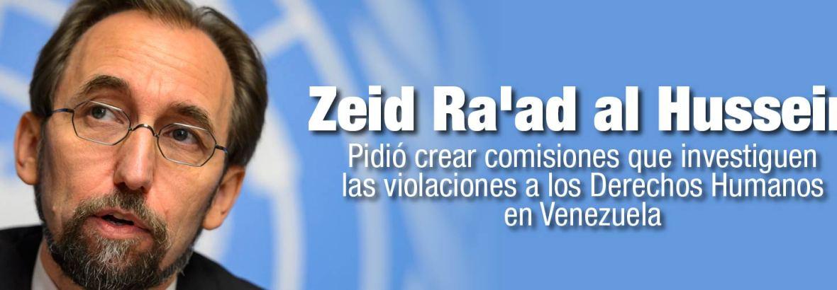 La ONU pidió crear comisiones que investiguen las violaciones a los Derechos Humanos en Venezuela