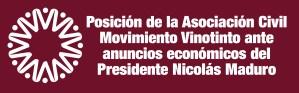 Posición de la Asociación Civil Movimiento Vinotinto