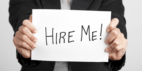 10 Key Steps for Finding Jobs in Canada - hire me sign