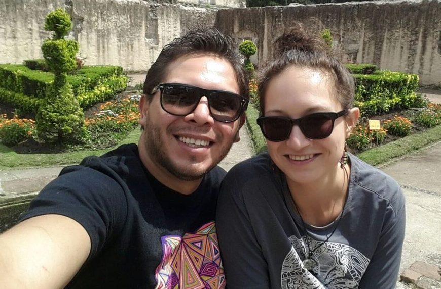 Die erste Begegnung mit meinem jetzigen Mann im April 2016 in Mexiko City