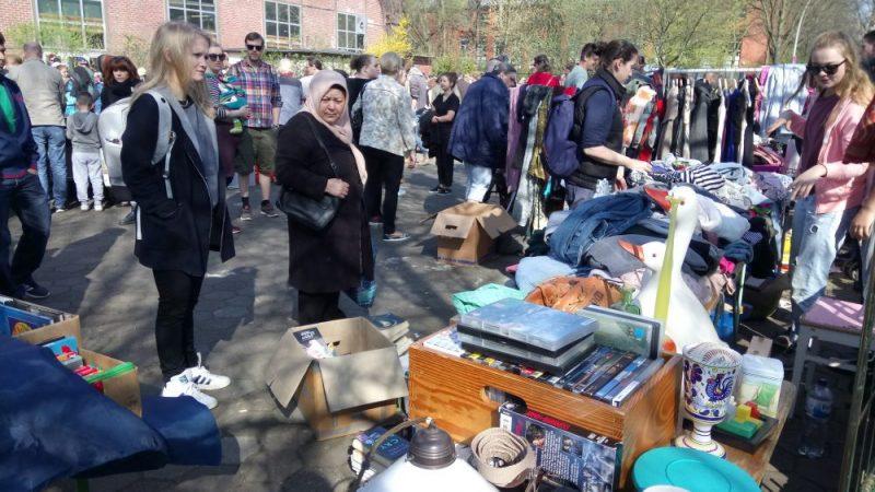 Flohmarkt in Wilhelmsburg/Hamburg