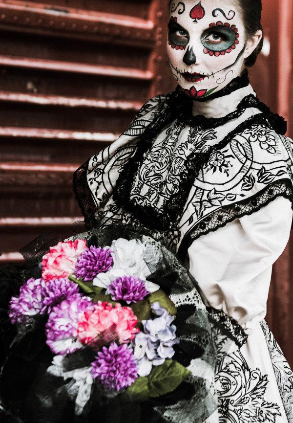 """Ariane Blumen - Was steckt hinter """"La Catrina""""?"""