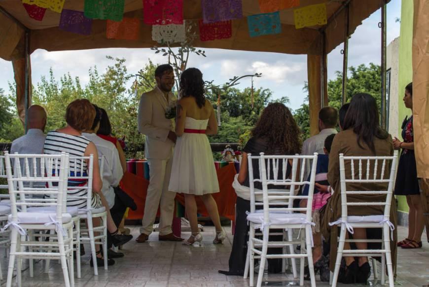 Hochzeit in Querétaro