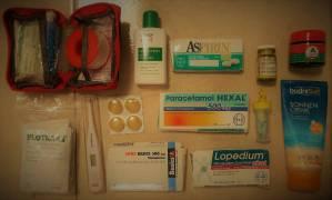 Packliste Apotheke Mexikoreise