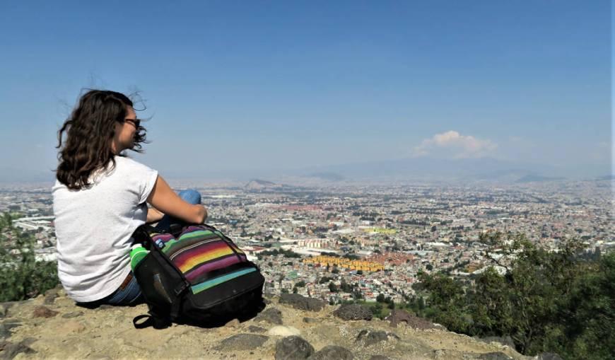 Blick auf Iztapalapa, Mexiko