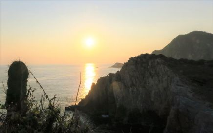 Sonnenuntergang in Maruata