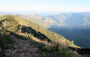 Aufstieg yum View Point Quatro Palos