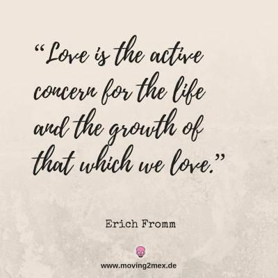 active concern - Was bedeutet Liebe?