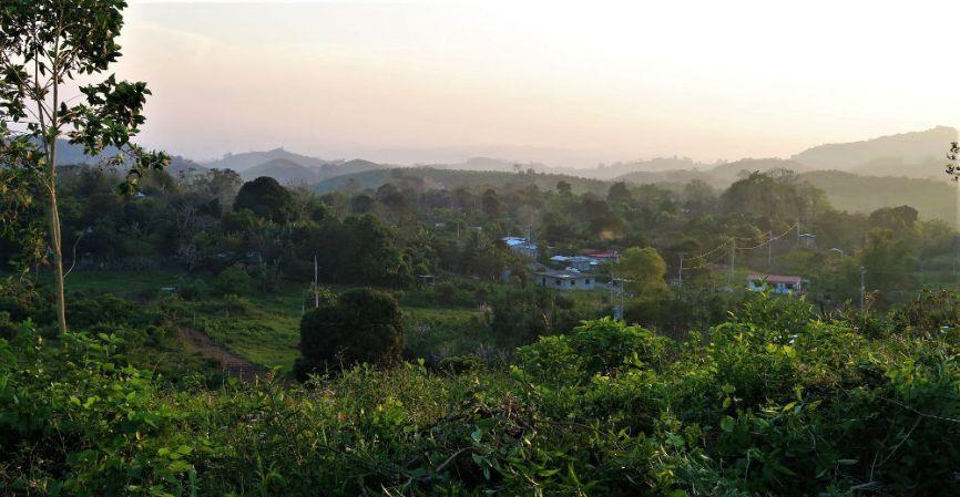 Papantla Landschaft web - Veracruz - Auf den Spuren der Vanille in Papantla