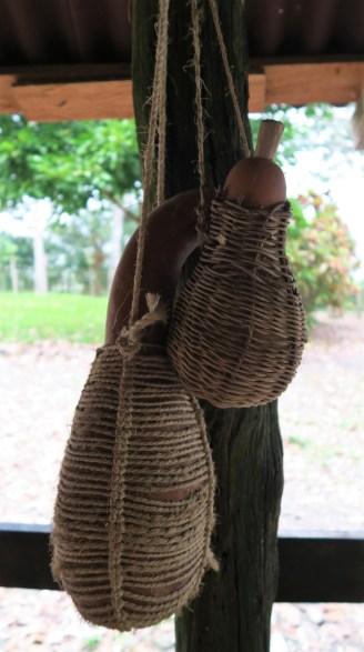 Getrocknete Kürbisse dienten den Totonaken als Flaschen zum Transport von Wasser