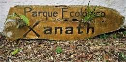 "Schild ""Parque Ecológico Xanath"""