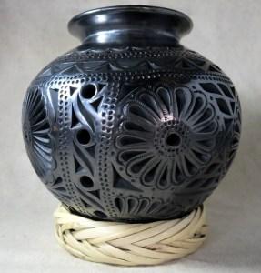 Cantaro bocon1 - Dekorative Vase aus Barro negro