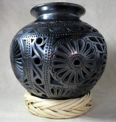 Cantaro bocon1 - Barro Negro - Das schwarze Gold aus Oaxaca