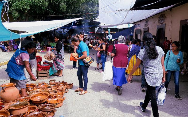 Tianguis Tlacolula - Barro Negro - Das schwarze Gold aus Oaxaca