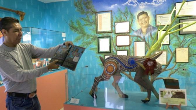 Mueso tallador de suenos - Alebrijes aus Arrazola - Wo Träume Wirklichkeit werden