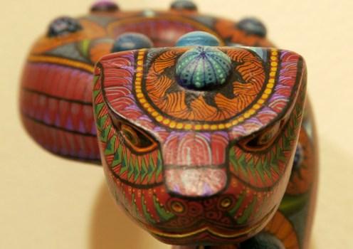Snake JM - Alebrijes aus Arrazola - Wo Träume Wirklichkeit werden