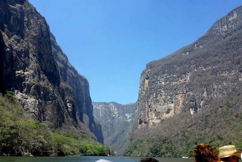 Cañón del Sumidero in Tuxtla, Mexiko