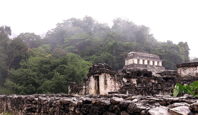 Die Ruinen von Palenque, Chiapas, Mexiko