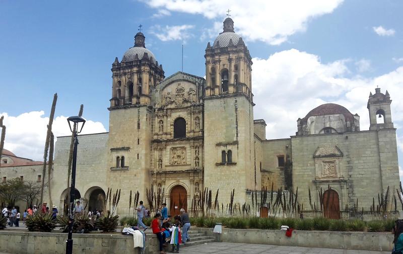 Santo Domingo Kirche - Zwei Monate Mexiko - Backpacking Reiseroute
