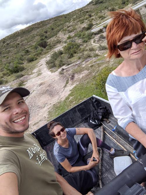 Pickup - Höhlenmalerei in Oaxaca - Zeitreise in die Welt der Nomaden