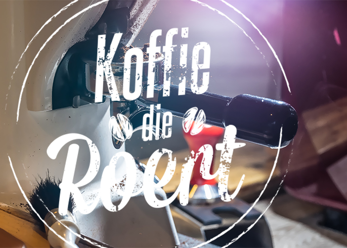 Koffie die roert