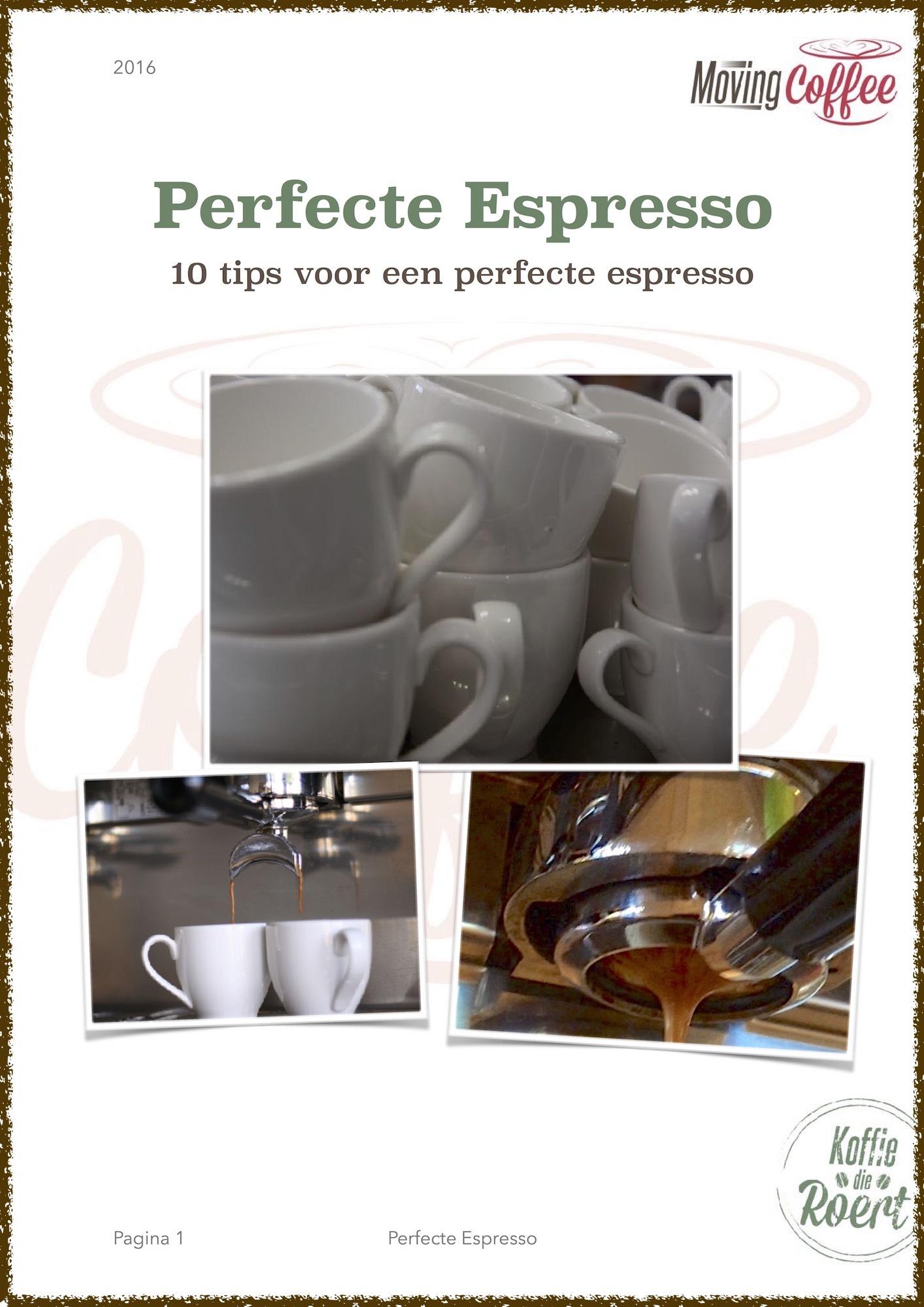 10 Tips voor een perfecte Espresso