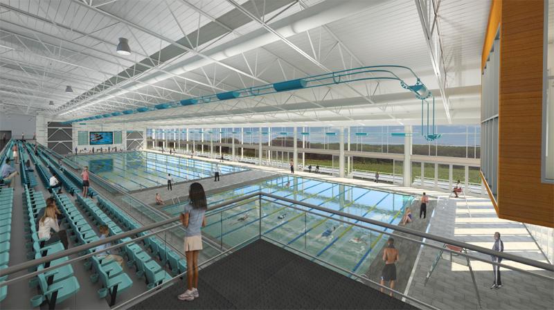Kensley Grace Aquatic Center proposed interior