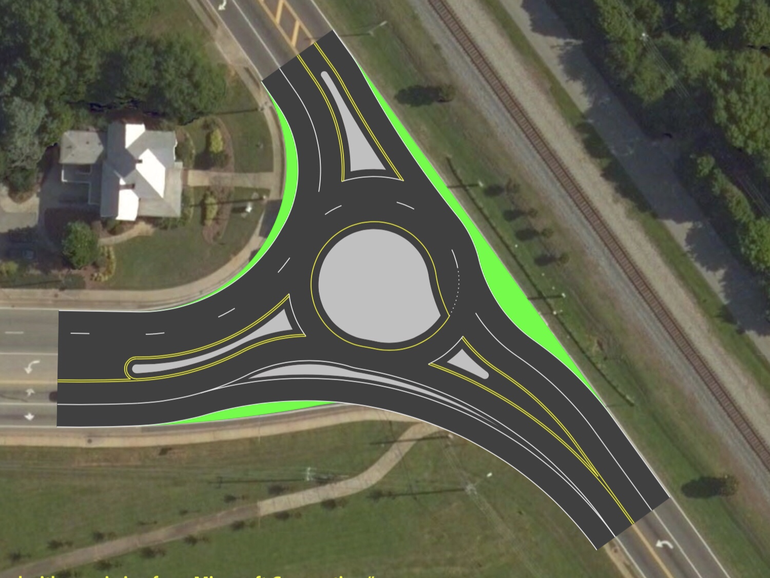 Concept photo for Bill Gardner Parkway at SR 42