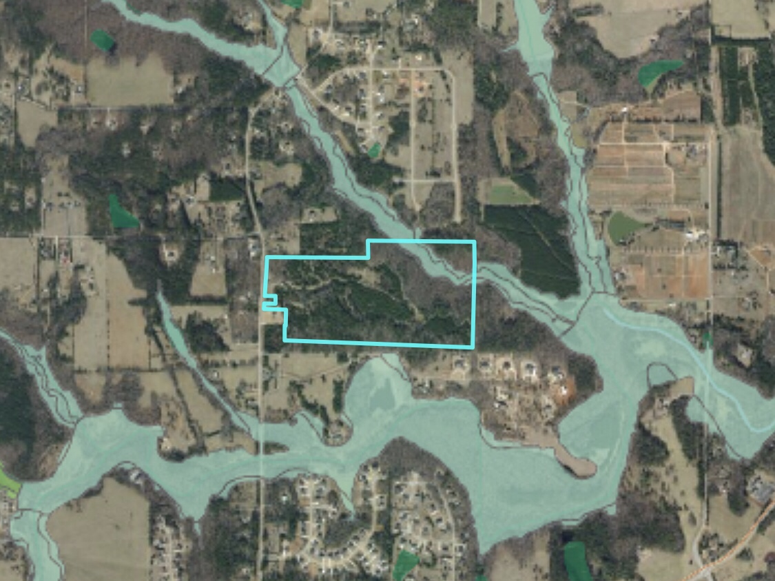 Location of 728 Elliot Road rezoning request