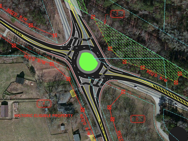 Concept design for SR 16 at SR 54