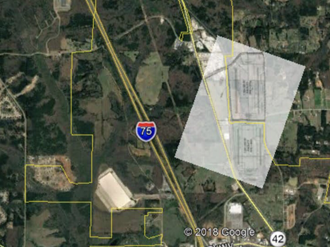 Map of 75 South Logistics Center in Locust Grove