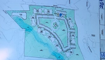 Concept site plan for apartments on Bridges Road in McDonough (Reservoir Group photo)