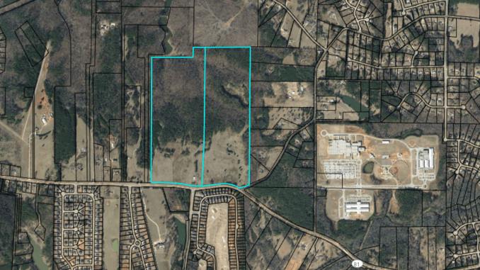 Location of Hybrass Properties development on Jonesboro Road