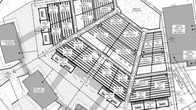 Conceptual site plan focus area for Stockbridge amphitheater (city photo)