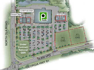 Publix at Ola site plan September 2019 (Dart Retail photo)