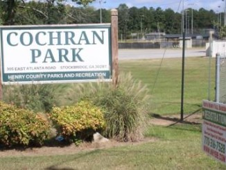 Photo of Cochran Park entrance (Henry Herald photo)